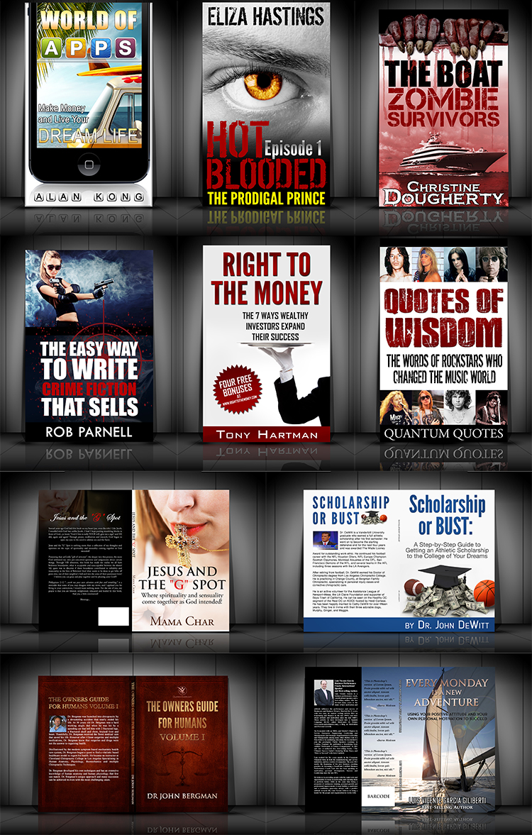 professional ebook covers